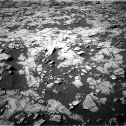 Nasa's Mars rover Curiosity acquired this image using its Right Navigation Camera on Sol 1249, at drive 2202, site number 52