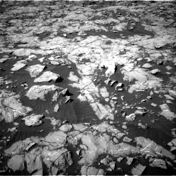 Nasa's Mars rover Curiosity acquired this image using its Right Navigation Camera on Sol 1249, at drive 2208, site number 52