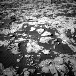 Nasa's Mars rover Curiosity acquired this image using its Right Navigation Camera on Sol 1249, at drive 2214, site number 52