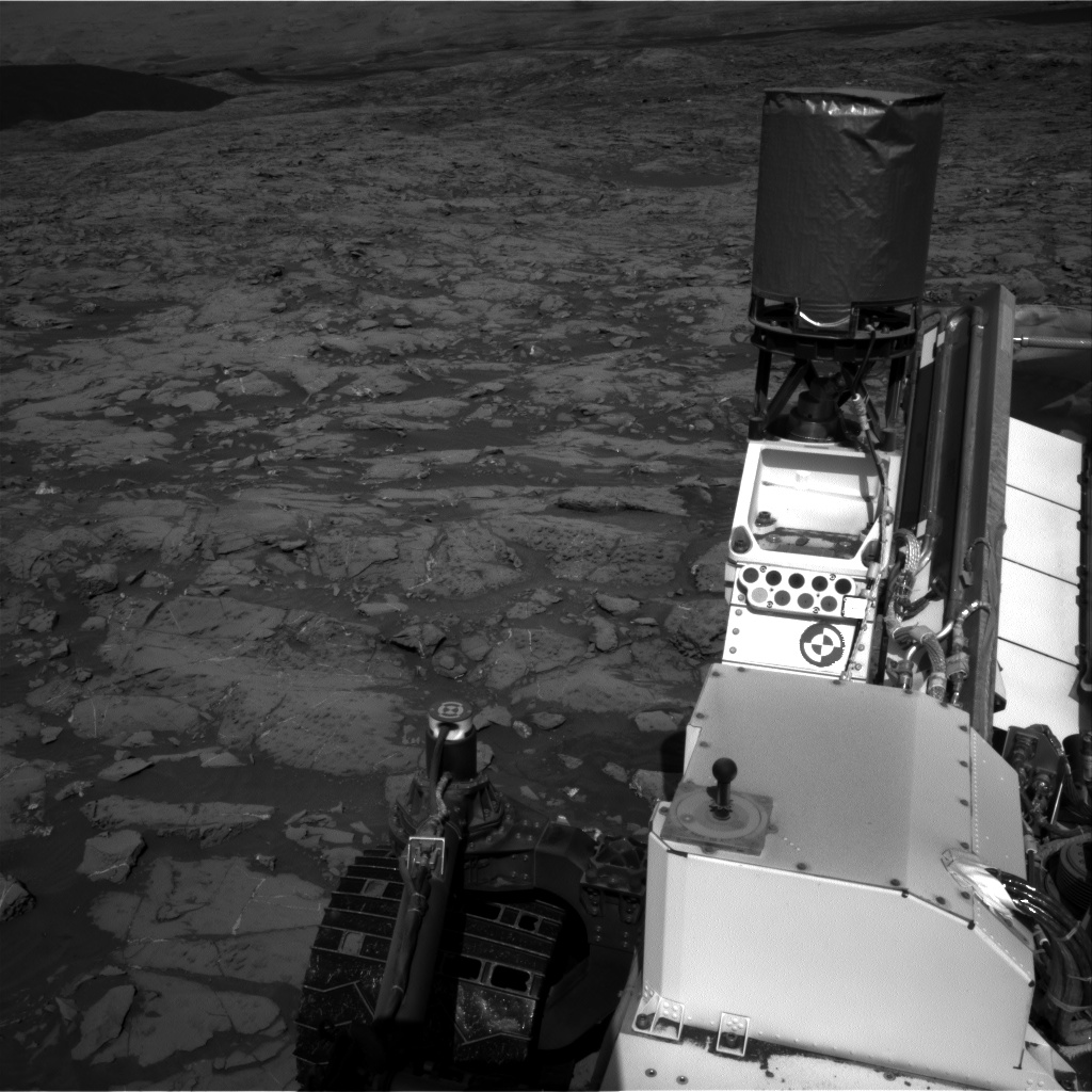 Nasa's Mars rover Curiosity acquired this image using its Right Navigation Camera on Sol 1249, at drive 2262, site number 52