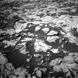 Nasa's Mars rover Curiosity acquired this image using its Left Navigation Camera on Sol 1250, at drive 2310, site number 52