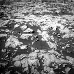Nasa's Mars rover Curiosity acquired this image using its Left Navigation Camera on Sol 1250, at drive 2316, site number 52