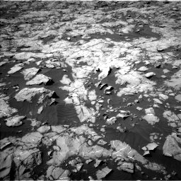 Nasa's Mars rover Curiosity acquired this image using its Left Navigation Camera on Sol 1250, at drive 2322, site number 52