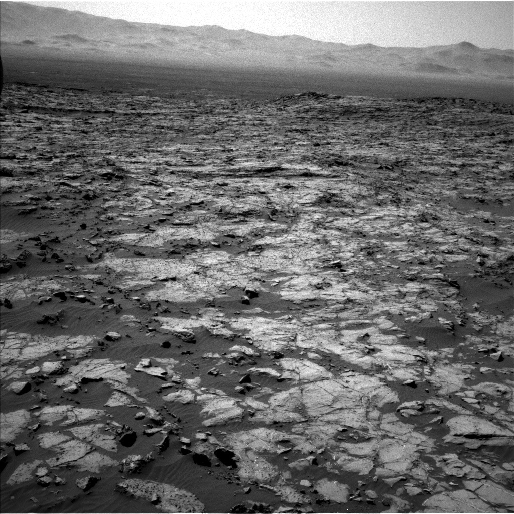 NASA's Mars rover Curiosity acquired this image using its Left Navigation Camera (Navcams) on Sol 1250