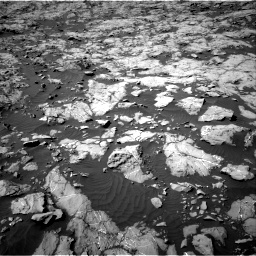 Nasa's Mars rover Curiosity acquired this image using its Right Navigation Camera on Sol 1250, at drive 2304, site number 52
