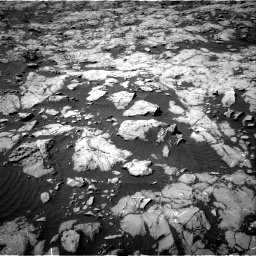 Nasa's Mars rover Curiosity acquired this image using its Right Navigation Camera on Sol 1250, at drive 2310, site number 52
