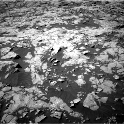 Nasa's Mars rover Curiosity acquired this image using its Right Navigation Camera on Sol 1250, at drive 2328, site number 52