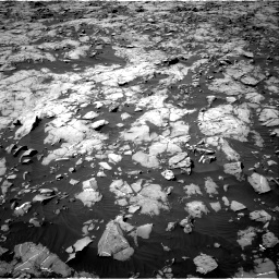 Nasa's Mars rover Curiosity acquired this image using its Right Navigation Camera on Sol 1250, at drive 2334, site number 52