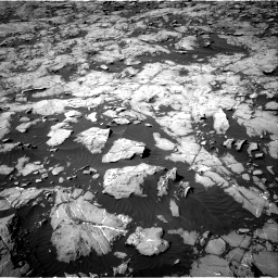 Nasa's Mars rover Curiosity acquired this image using its Right Navigation Camera on Sol 1250, at drive 2346, site number 52