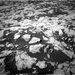 Nasa's Mars rover Curiosity acquired this image using its Right Navigation Camera on Sol 1250, at drive 2352, site number 52