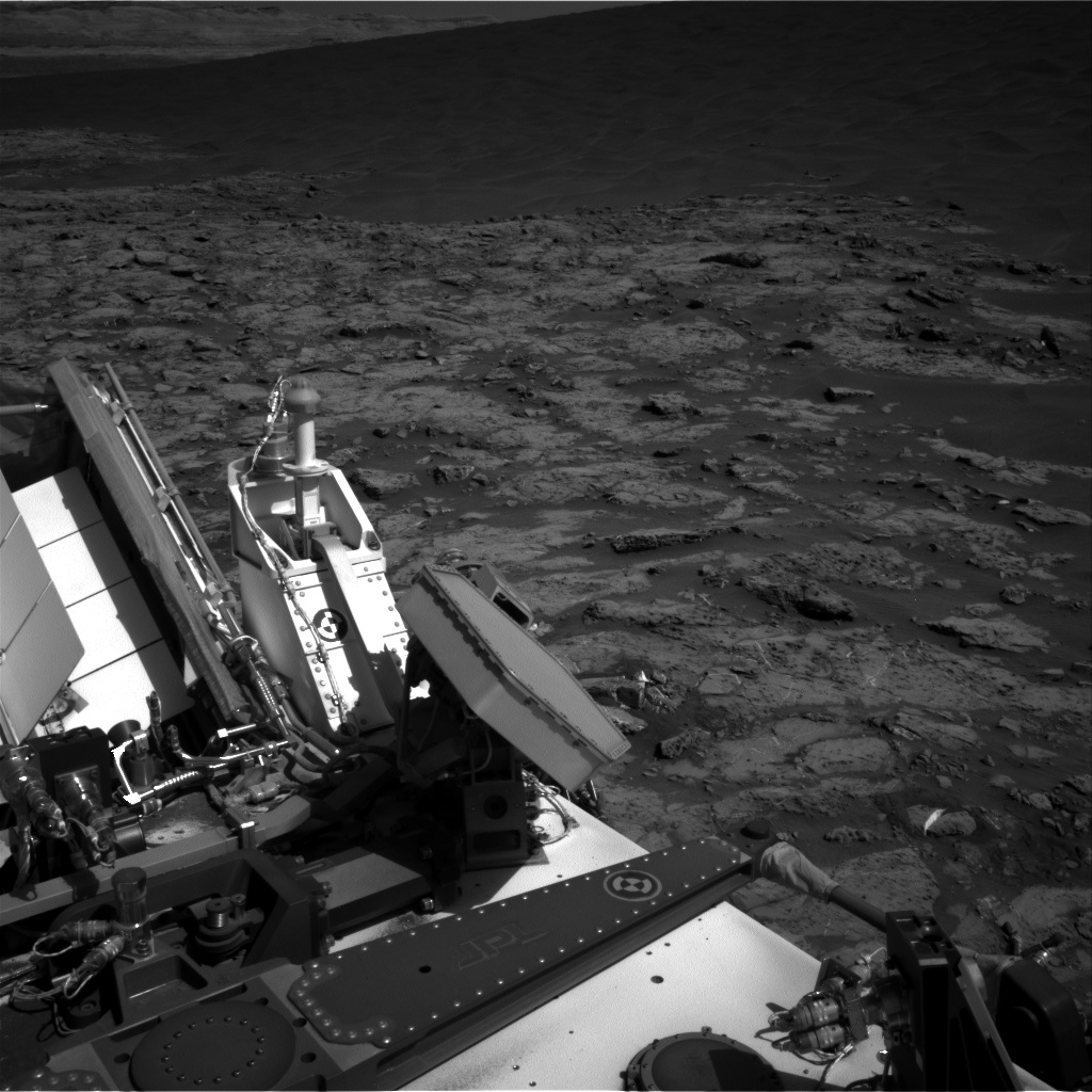 Nasa's Mars rover Curiosity acquired this image using its Right Navigation Camera on Sol 1250, at drive 2388, site number 52