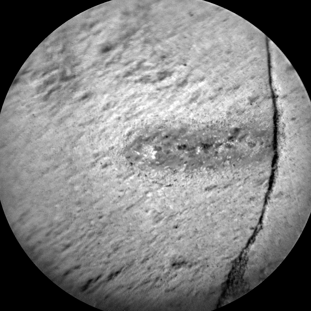 Nasa's Mars rover Curiosity acquired this image using its Chemistry & Camera (ChemCam) on Sol 1250, at drive 2262, site number 52
