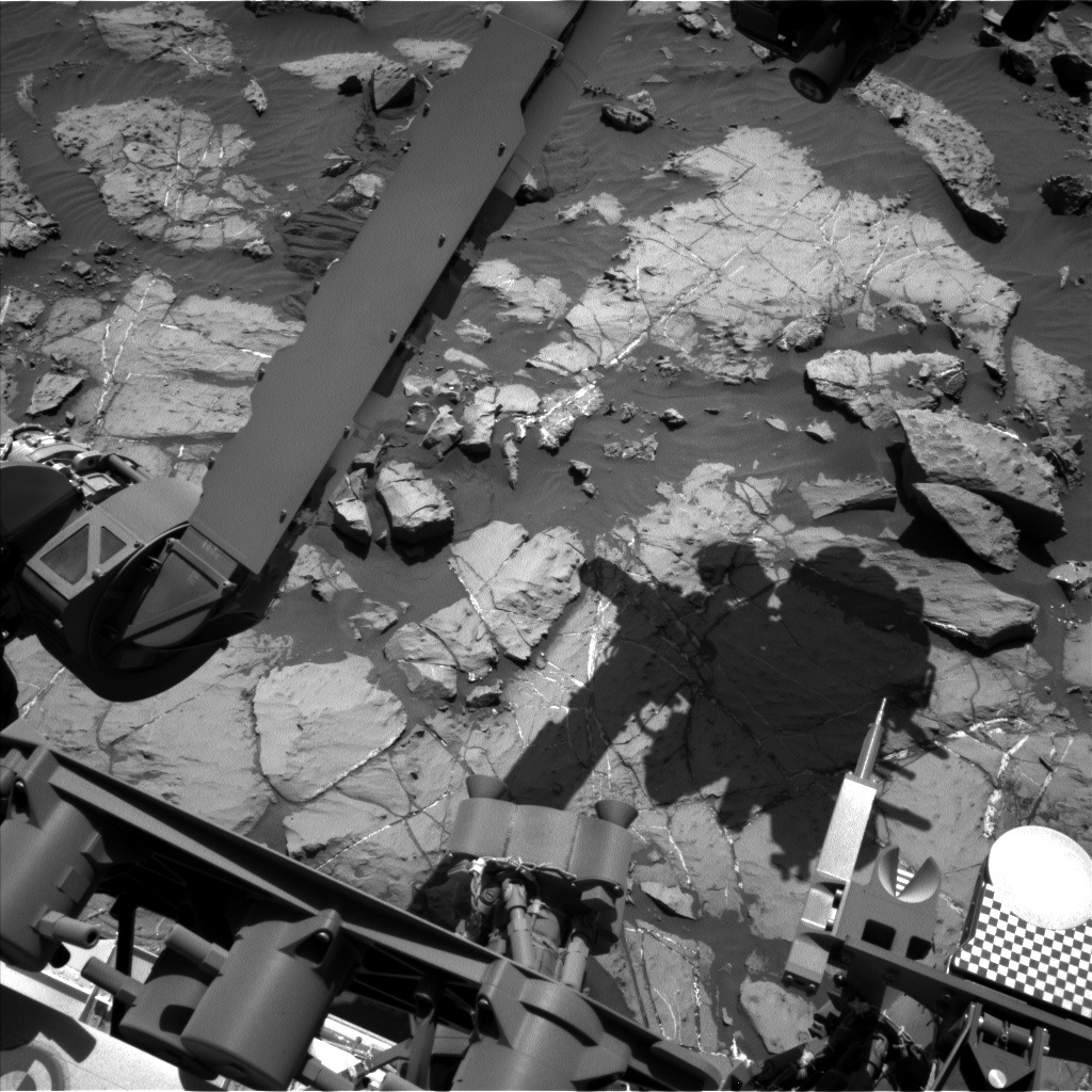 NASA's Mars rover Curiosity acquired this image using its Left Navigation Camera (Navcams) on Sol 1251