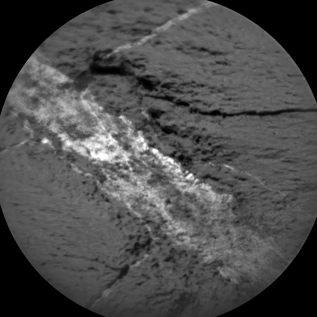 Nasa's Mars rover Curiosity acquired this image using its Chemistry & Camera (ChemCam) on Sol 1251, at drive 2388, site number 52
