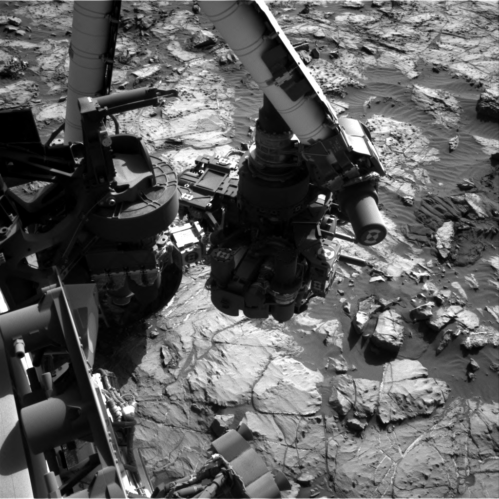 Nasa's Mars rover Curiosity acquired this image using its Right Navigation Camera on Sol 1252, at drive 2388, site number 52