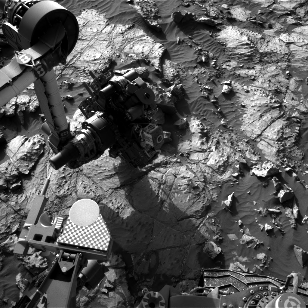 Nasa's Mars rover Curiosity acquired this image using its Right Navigation Camera on Sol 1254, at drive 2388, site number 52