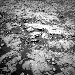 Nasa's Mars rover Curiosity acquired this image using its Left Navigation Camera on Sol 1255, at drive 2400, site number 52
