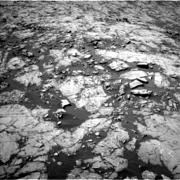 Nasa's Mars rover Curiosity acquired this image using its Left Navigation Camera on Sol 1255, at drive 2406, site number 52