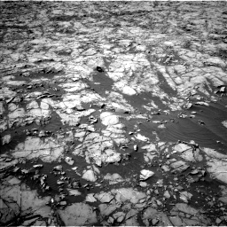 Nasa's Mars rover Curiosity acquired this image using its Left Navigation Camera on Sol 1255, at drive 2442, site number 52
