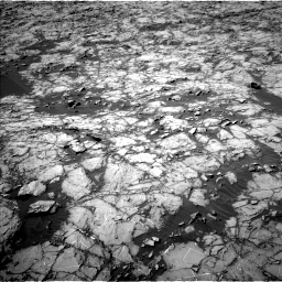 Nasa's Mars rover Curiosity acquired this image using its Left Navigation Camera on Sol 1255, at drive 2460, site number 52