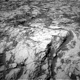 Nasa's Mars rover Curiosity acquired this image using its Left Navigation Camera on Sol 1255, at drive 2484, site number 52