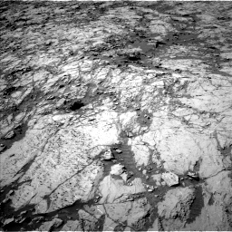 Nasa's Mars rover Curiosity acquired this image using its Left Navigation Camera on Sol 1255, at drive 2490, site number 52