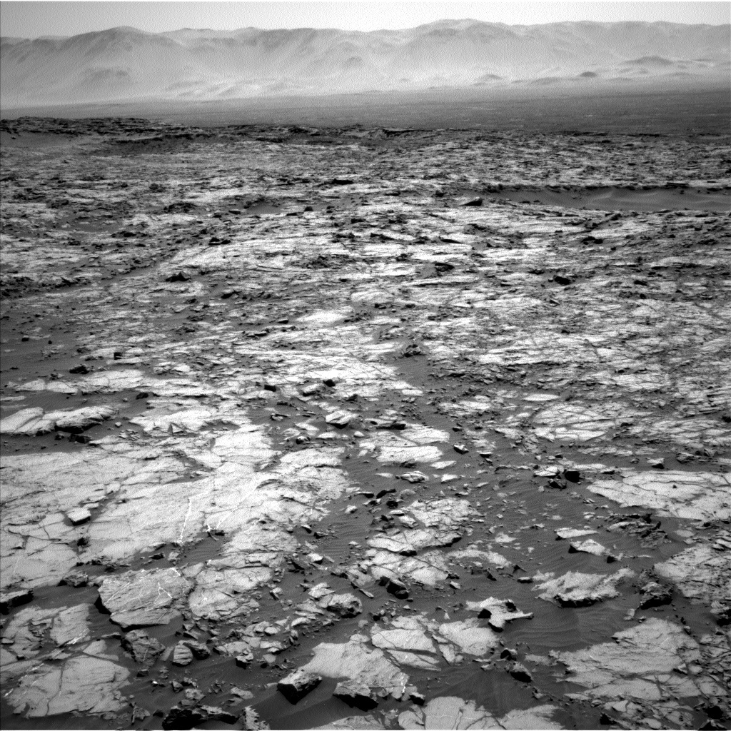 NASA's Mars rover Curiosity acquired this image using its Left Navigation Camera (Navcams) on Sol 1255