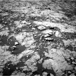 Nasa's Mars rover Curiosity acquired this image using its Right Navigation Camera on Sol 1255, at drive 2406, site number 52