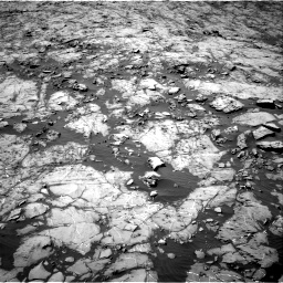 Nasa's Mars rover Curiosity acquired this image using its Right Navigation Camera on Sol 1255, at drive 2412, site number 52