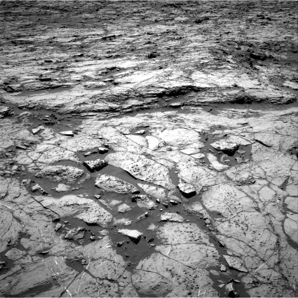 Nasa's Mars rover Curiosity acquired this image using its Right Navigation Camera on Sol 1255, at drive 2460, site number 52