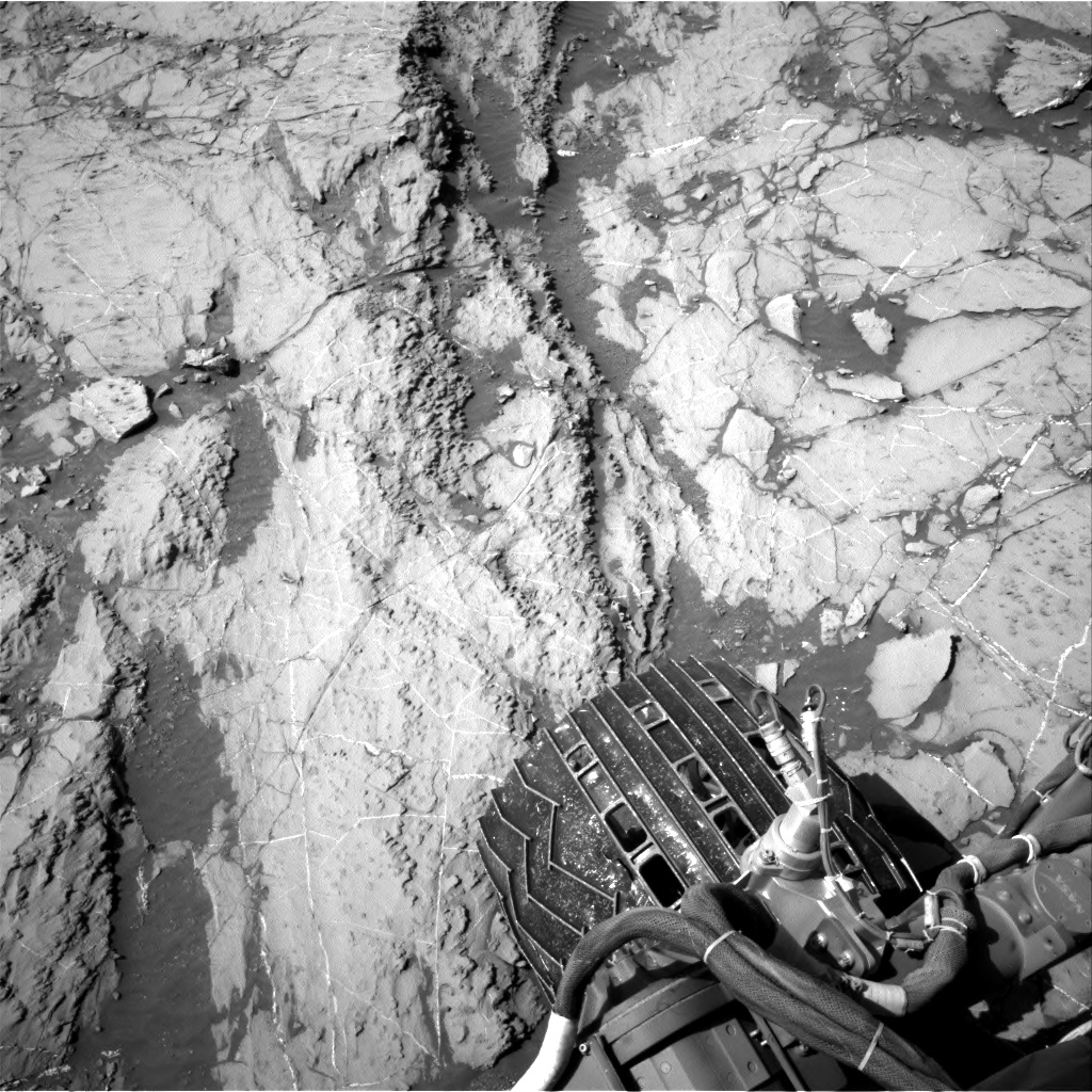 Nasa's Mars rover Curiosity acquired this image using its Right Navigation Camera on Sol 1255, at drive 2500, site number 52