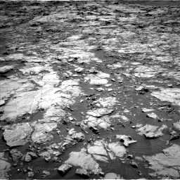 Nasa's Mars rover Curiosity acquired this image using its Left Navigation Camera on Sol 1256, at drive 2506, site number 52