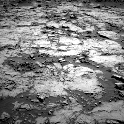 Nasa's Mars rover Curiosity acquired this image using its Left Navigation Camera on Sol 1256, at drive 2566, site number 52