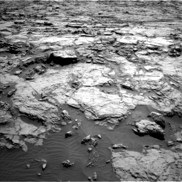 Nasa's Mars rover Curiosity acquired this image using its Left Navigation Camera on Sol 1256, at drive 2638, site number 52