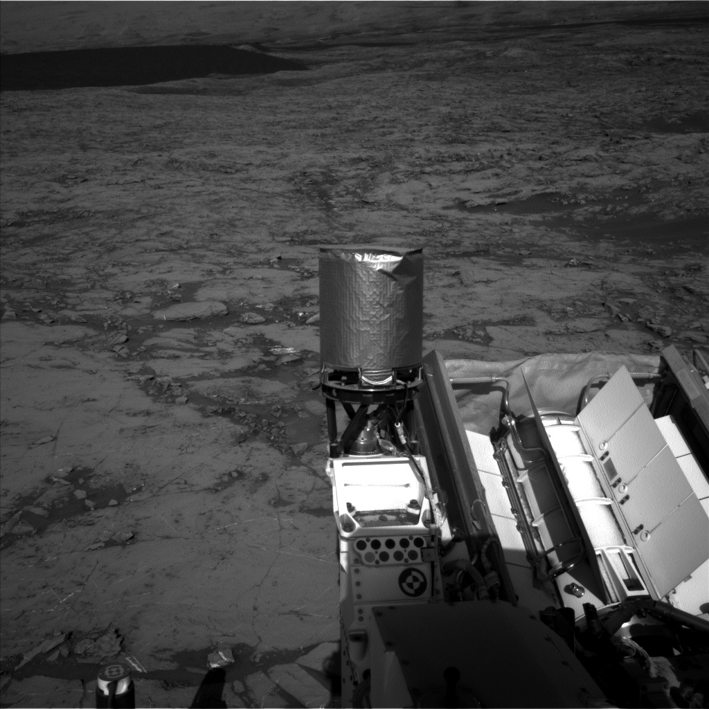 Nasa's Mars rover Curiosity acquired this image using its Left Navigation Camera on Sol 1256, at drive 2668, site number 52