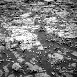 Nasa's Mars rover Curiosity acquired this image using its Right Navigation Camera on Sol 1256, at drive 2530, site number 52