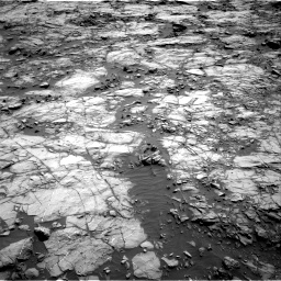 Nasa's Mars rover Curiosity acquired this image using its Right Navigation Camera on Sol 1256, at drive 2536, site number 52