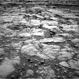 Nasa's Mars rover Curiosity acquired this image using its Right Navigation Camera on Sol 1256, at drive 2554, site number 52
