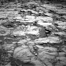 Nasa's Mars rover Curiosity acquired this image using its Right Navigation Camera on Sol 1256, at drive 2560, site number 52
