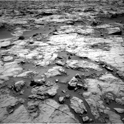 Nasa's Mars rover Curiosity acquired this image using its Right Navigation Camera on Sol 1256, at drive 2596, site number 52