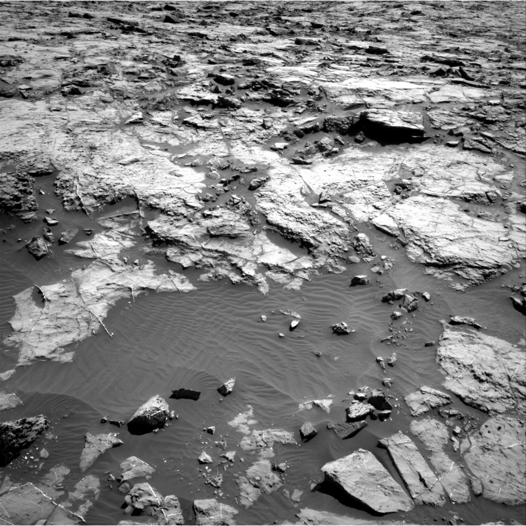 Nasa's Mars rover Curiosity acquired this image using its Right Navigation Camera on Sol 1256, at drive 2632, site number 52