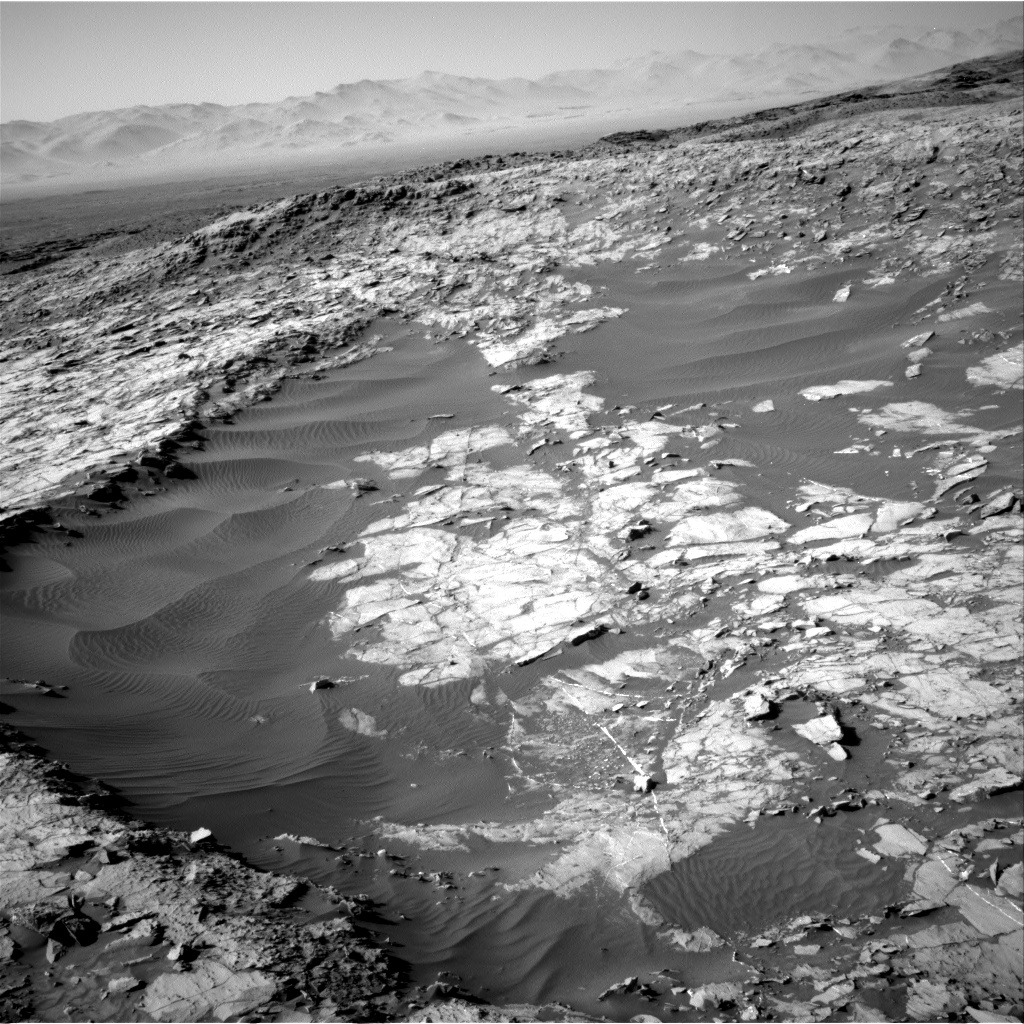 Nasa's Mars rover Curiosity acquired this image using its Right Navigation Camera on Sol 1256, at drive 2668, site number 52