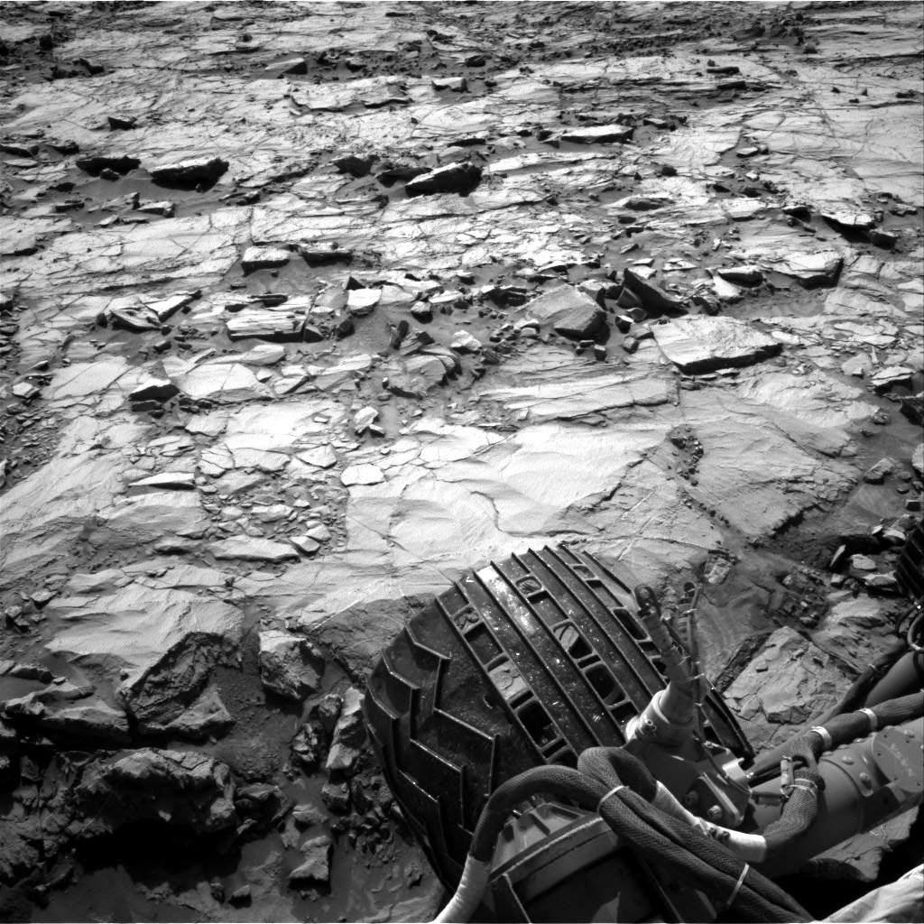 Nasa's Mars rover Curiosity acquired this image using its Right Navigation Camera on Sol 1257, at drive 2678, site number 52