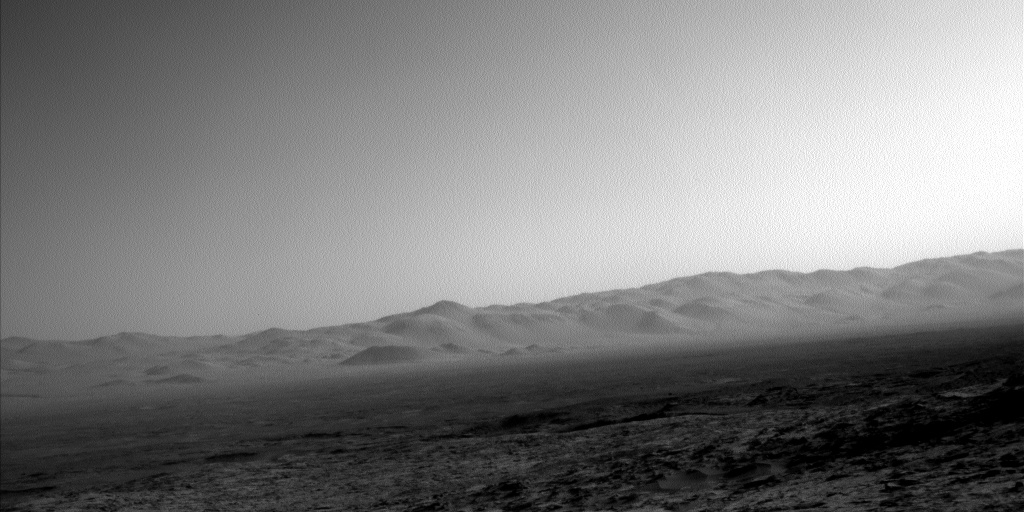 Nasa's Mars rover Curiosity acquired this image using its Left Navigation Camera on Sol 1258, at drive 2678, site number 52
