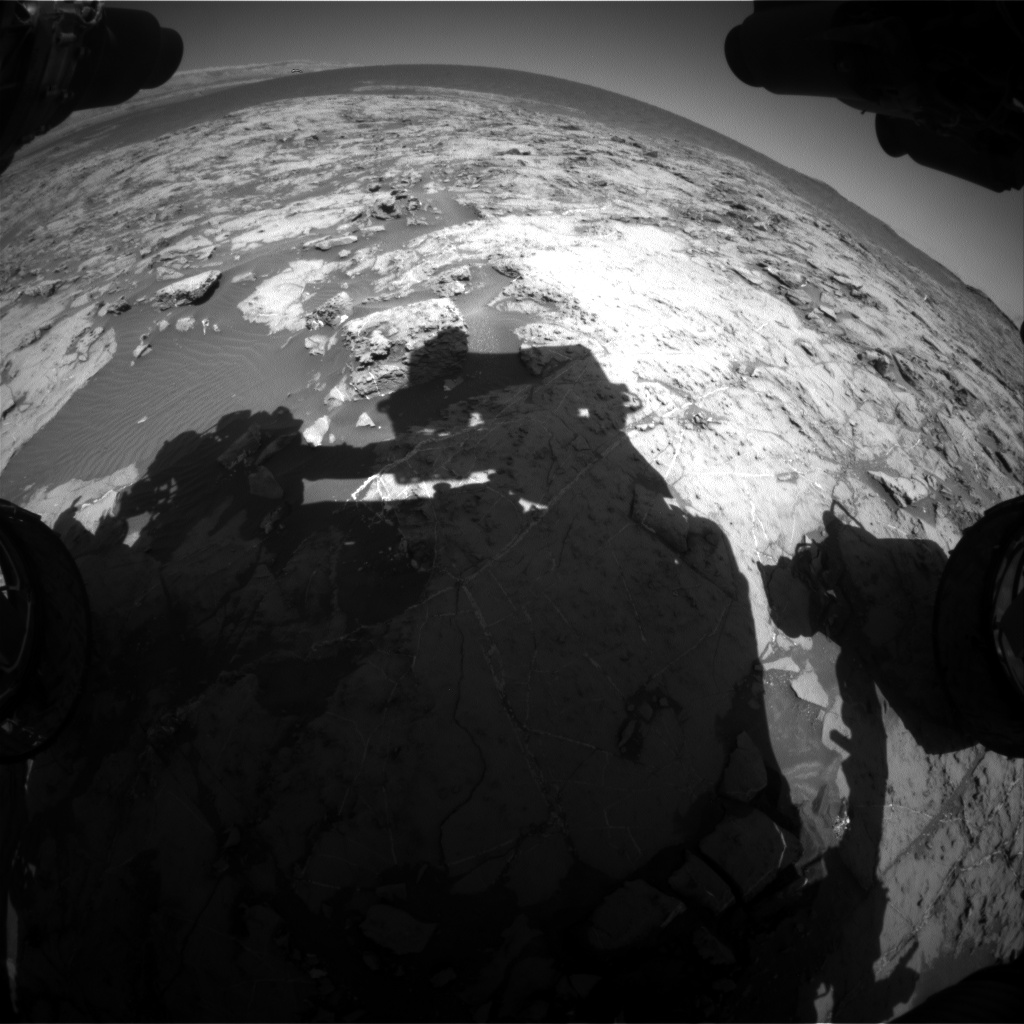 Nasa's Mars rover Curiosity acquired this image using its Front Hazard Avoidance Camera (Front Hazcam) on Sol 1259, at drive 2678, site number 52