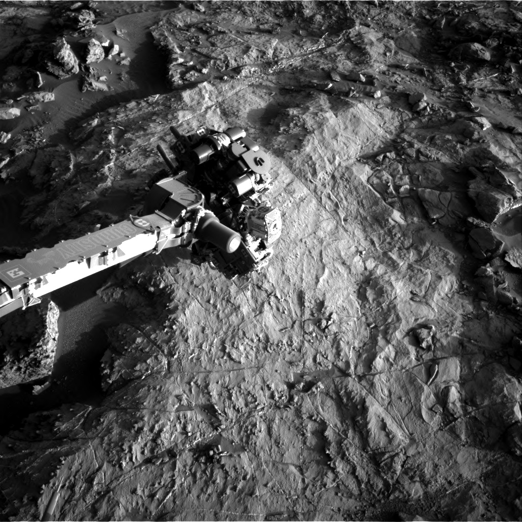 Nasa's Mars rover Curiosity acquired this image using its Right Navigation Camera on Sol 1259, at drive 2678, site number 52