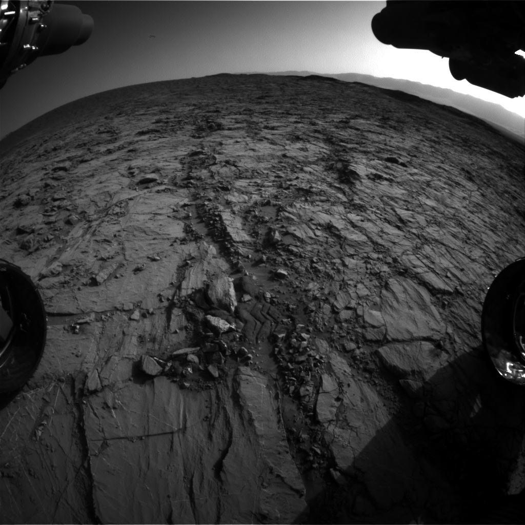 Nasa's Mars rover Curiosity acquired this image using its Front Hazard Avoidance Camera (Front Hazcam) on Sol 1260, at drive 2772, site number 52