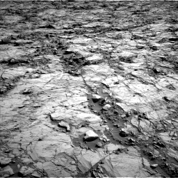 Nasa's Mars rover Curiosity acquired this image using its Left Navigation Camera on Sol 1260, at drive 2750, site number 52