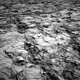 Nasa's Mars rover Curiosity acquired this image using its Left Navigation Camera on Sol 1260, at drive 2762, site number 52