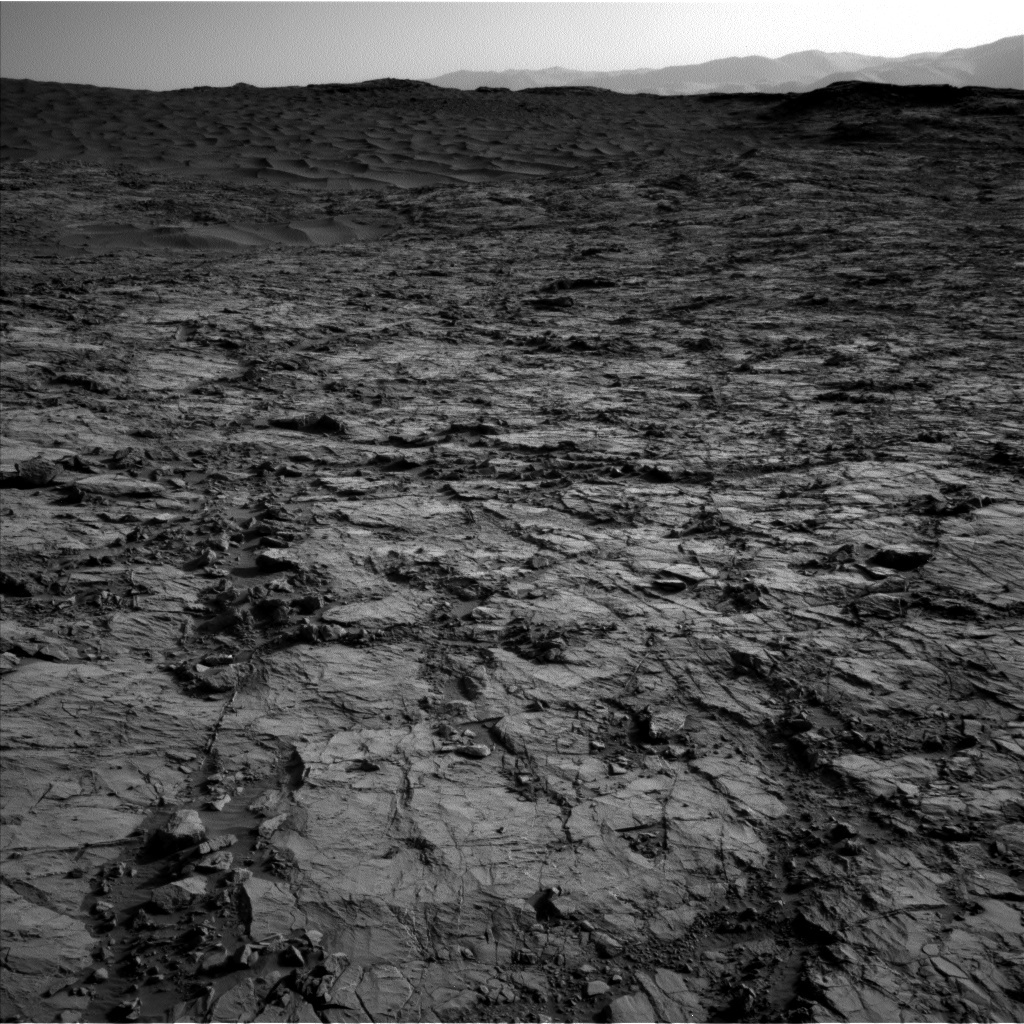 NASA's Mars rover Curiosity acquired this image using its Left Navigation Camera (Navcams) on Sol 1260
